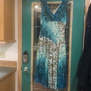 Beautiful dress!!!!  Dress Barn size 16